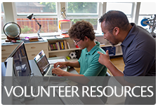 Link to volunteer Resources on State website. Hit back button to return to county page.