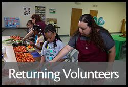 Go to Returning Volunteer Leaders